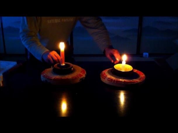 蝋燭灯り画像07