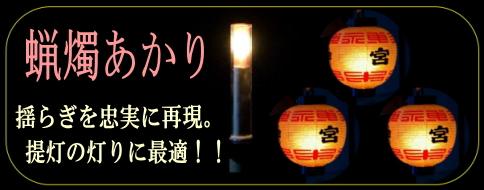 蝋燭灯り画像01