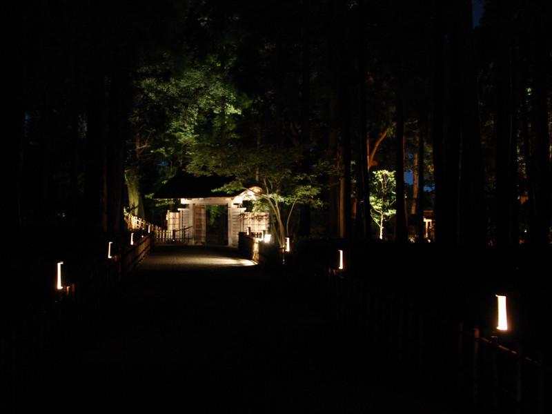 水戸偕楽園の萩祭りのイベントの写真