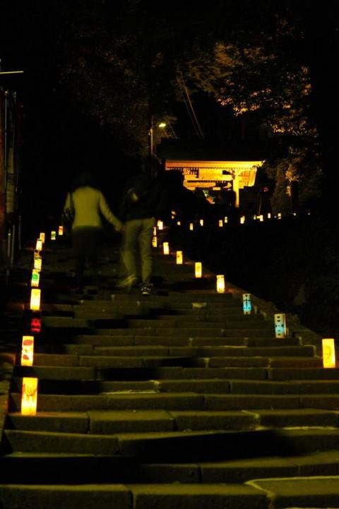 灯りイベント 灯参道画像2