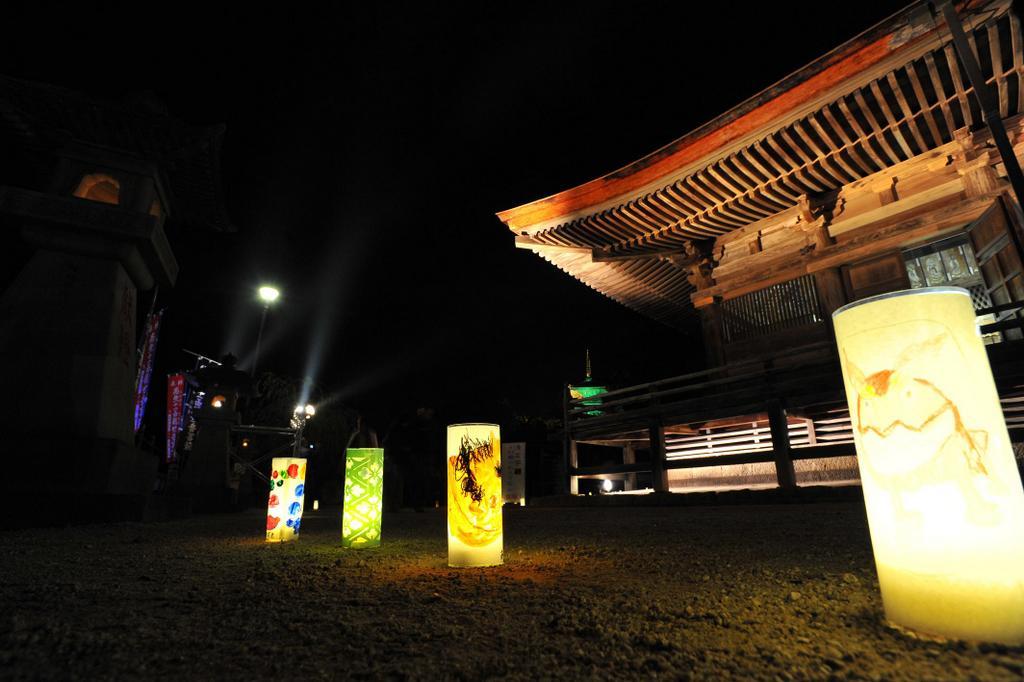 島根県 清水寺灯参道2012の写真