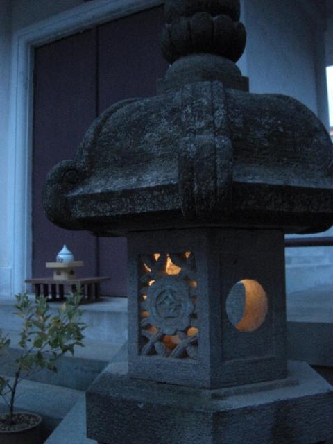 金光教新潟教会様の庭園灯