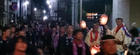 新橋本区の祭り提灯02