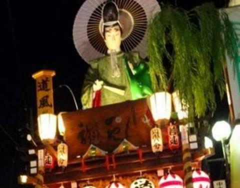 佐原の大祭のの祭り提灯
