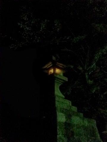 鳳来寺 石灯籠02