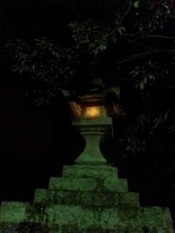 鳳来寺 石灯籠03