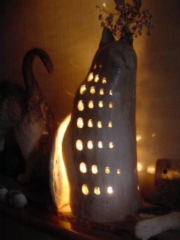 猫のランプシェード02