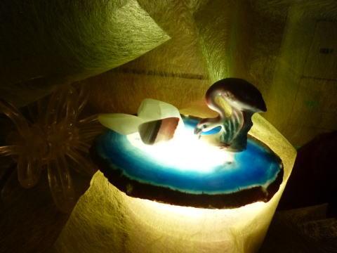 フラミンゴの灯り