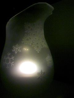 山本さんのガラスのランプシェード02