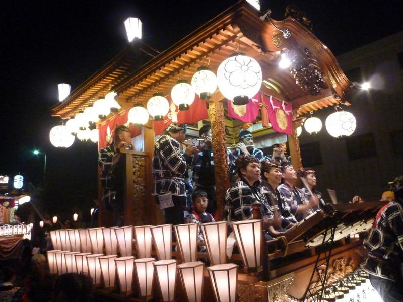 富岡祭りの写真
