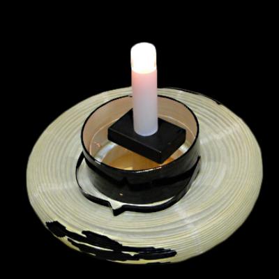 電池式LED蝋燭 短01