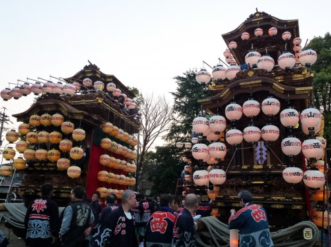 半田市乙川の山車祭り02
