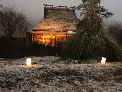 美山かやぶきの里 雪灯廊05