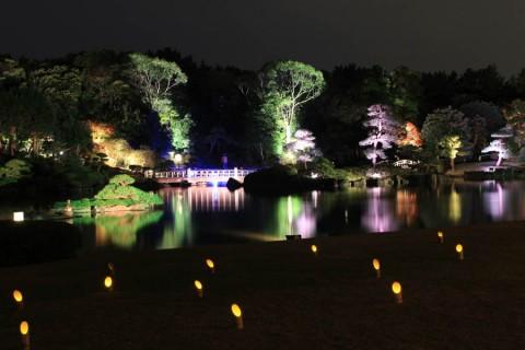 見浜園の灯ろう祭り02