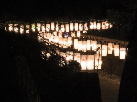 見浜園の灯ろう祭り05