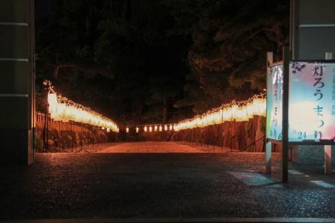 見浜園の灯ろう祭り06