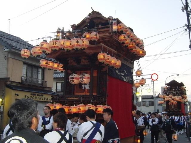 武豊町長尾部の山車祭り画像01