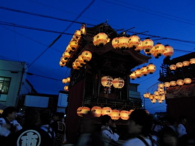 武豊町長尾部の山車祭り画像02