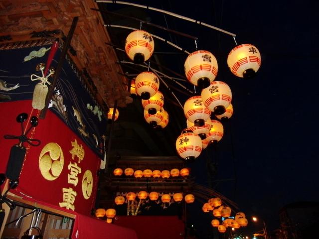 武豊町長尾部の山車祭り画像03