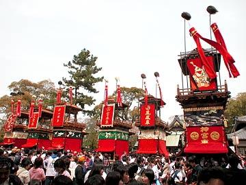 武豊町長尾部の山車祭り画像04