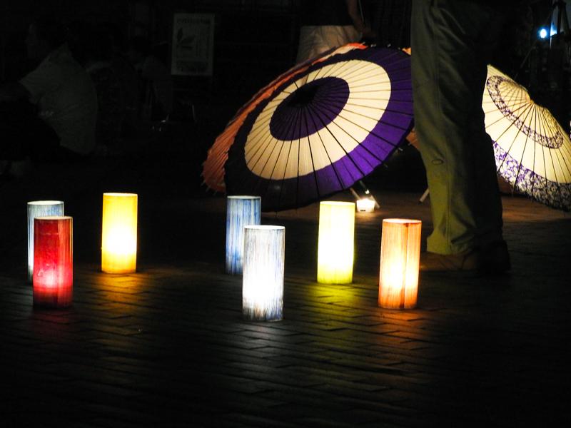 """勝山灯り祭り"""""""