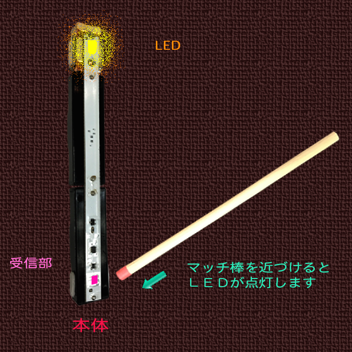 ロウソク灯り 電池2本バナ-03