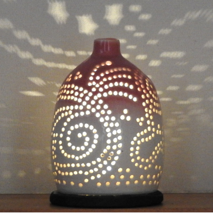 陶灯り3001