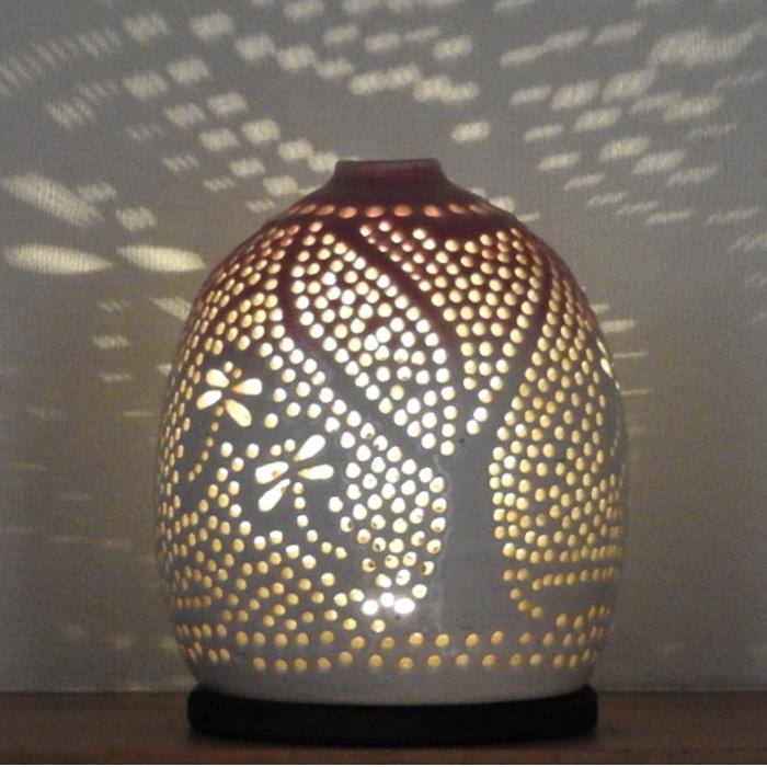 陶灯り3005