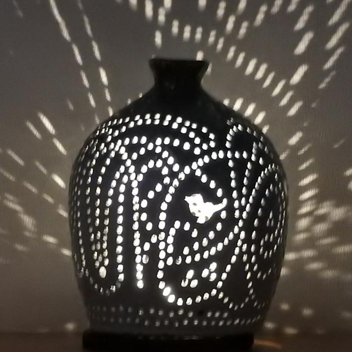 陶灯り3012